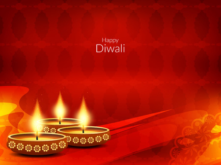 religious: Happy Diwali background design