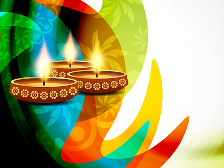 joy: Happy Diwali background design