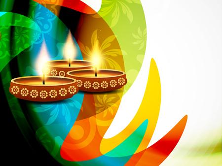 diwali celebration: Happy Diwali background design