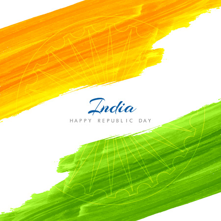 15 august: Indian flag theme background design