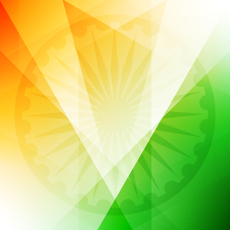 indian flag: Indian flag theme background design