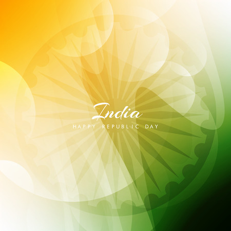 bandera: Bandera de la India diseño de fondo el tema Vectores