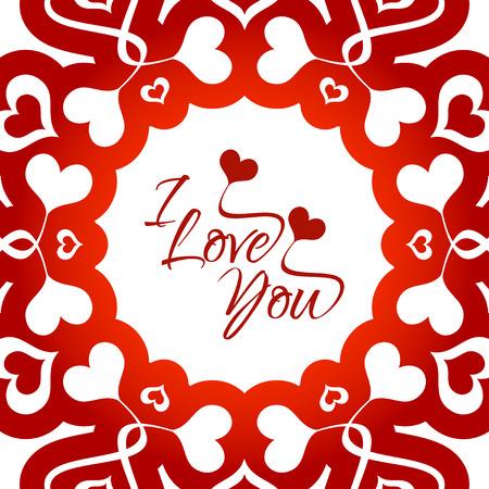 elegant woman: Happy valentines day greeting card