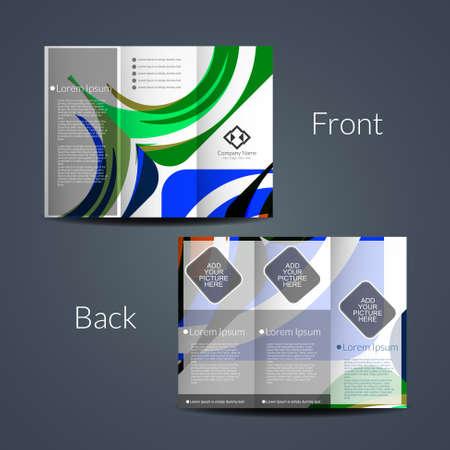tri: Tri Fold brochure design template.