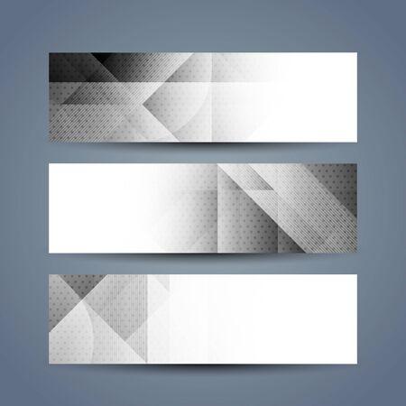 grey: Grey color headers Illustration