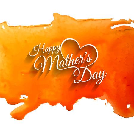 mother day: Elegant creative background design for mothers day. Illustration