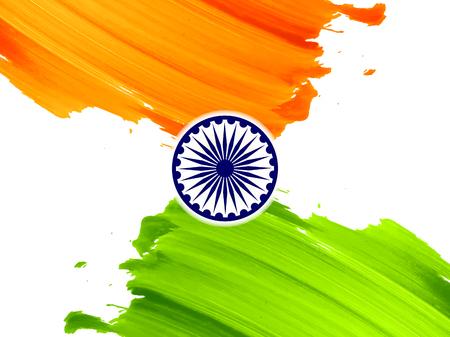 Indian flag theme background design