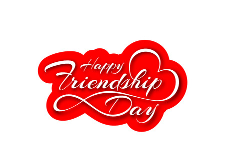 friendship day: Happy Friendship day greeting card