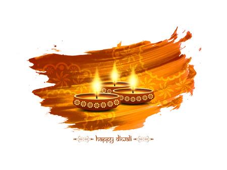 Happy Diwali background design Vector Illustration