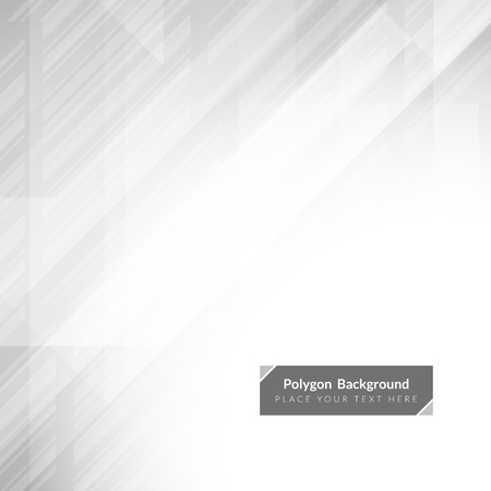grey abstract background: Abstract grey color polygonal shape background