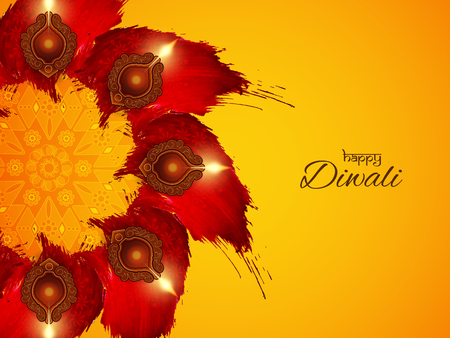 Happy Diwali religious background design