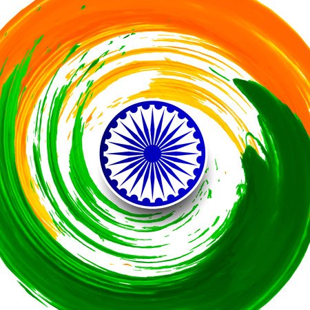 Indian Flag background