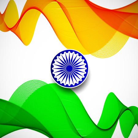 Indian Flag background
