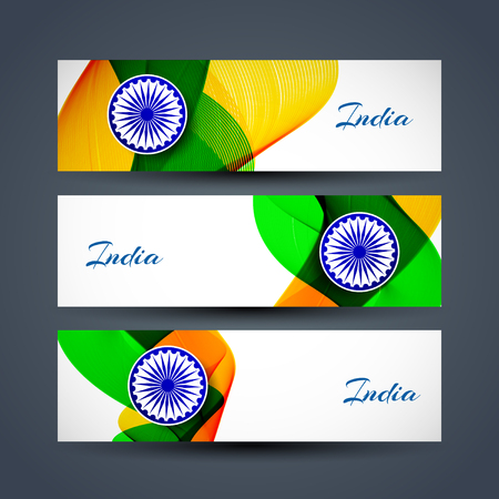 Indian flag heders