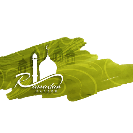 Religious Ramadan Kareem illustration