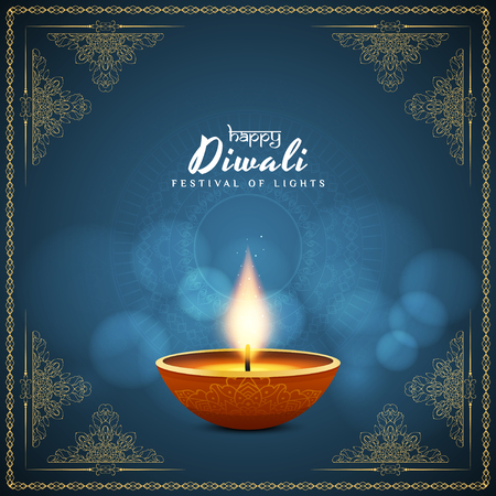 Abstract Happy Diwali background Stock Vector - 86854465