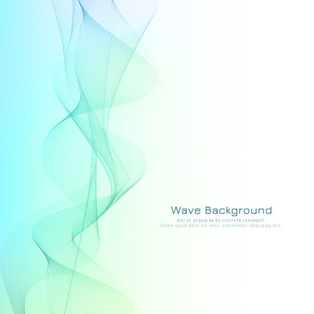 Abstract modern smoke wave pattern with space for text. Creative concept for your flyer, invitation card and poster.