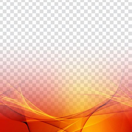 Abstracte kleurrijke golf transparante moderne achtergrond