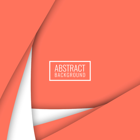 Abstract elegant colorful papercut background