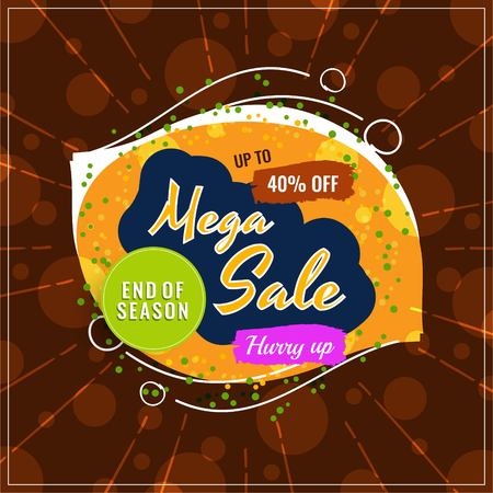 Abstract mega sale modern background Archivio Fotografico - 114825225