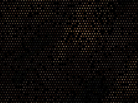 Abstract colorful halftone design dark background vector Standard-Bild - 157125055