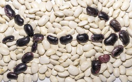 pinto bean: Pinto bean right-pointing arrow shape Stock Photo