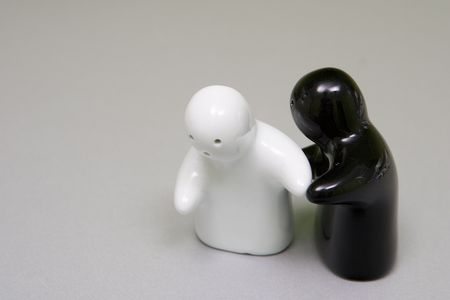 salt n pepper dance Stock Photo