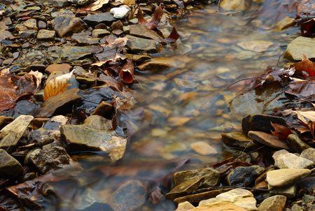 Fall Runoff running water  Stock fotó