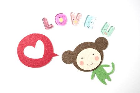 said: monkey said love you