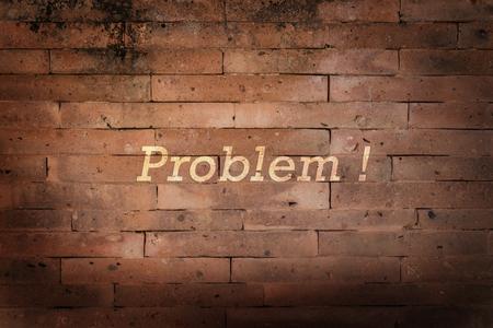 Problem concept