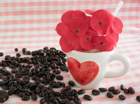 coffee in love theme photo
