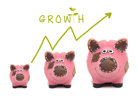 Growth of your money concept