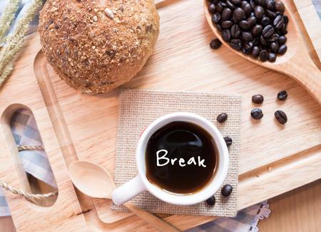 Coffee break concept Stock Photo