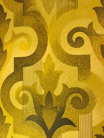 art texture with yellow background Stock Photo