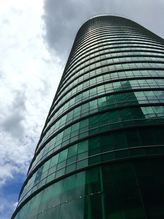 High Business Tower in Town