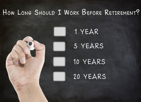 Question abount retirement on black board
