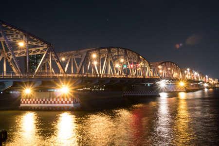 Bridge over the river in Thailand
