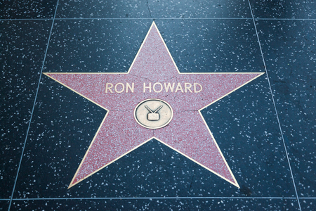 ron: HOLLYWOOD, CALIFORNIA - February 8 2015: Ron Howards Hollywood Walk of Fame star on February 8, 2015 in Hollywood, CA. Editorial