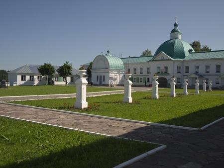 prior: Holy Trinity Monastery of Alexander Svirsky Stock Photo