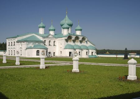 Holy Trinity Monastery of Alexander Svirsky Stock Photo - 12003568