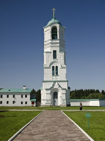 Holy Trinity Monastery of Svirsky the Transfiguration Cathedral Stock Photo - 12003603