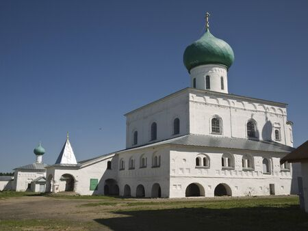 Holy Trinity Monastery of Alexander Svirsky Stock Photo