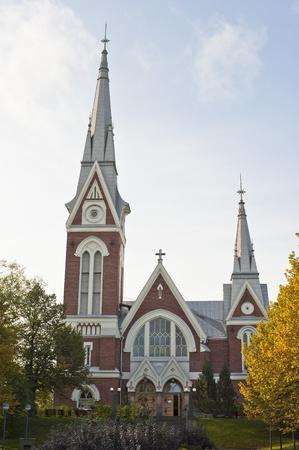 evangelical: Evangelical Lutheran Church of Joensuu, Finland, Europe