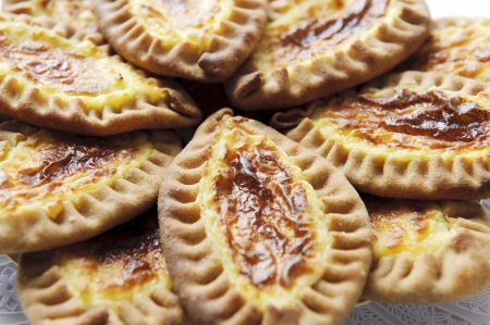 pasty: Traditional Karelian and Finnish cakes with potatoes