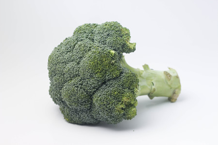 Isolate broccoli on white background Stock Photo