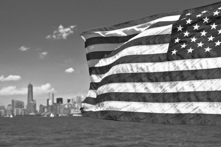 American Flag in NYC