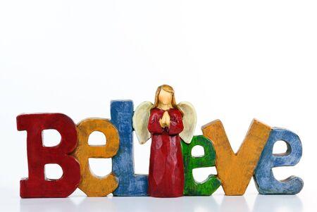 religious angel: Believe