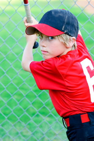 little league: Portrait of Little league baseball player.