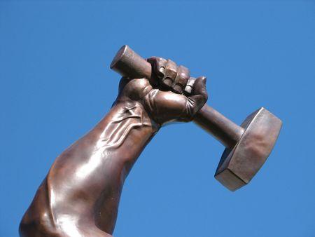 the hammer: Bronce Hammer