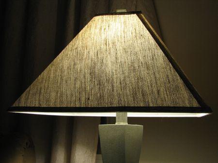 夜ランプ 写真素材